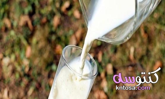 هل شرب اللبن مفيد مع نظام انقاص الوزن ؟،ما علاقة الحليب بالرجيم؟ kntosa.com_25_19_156