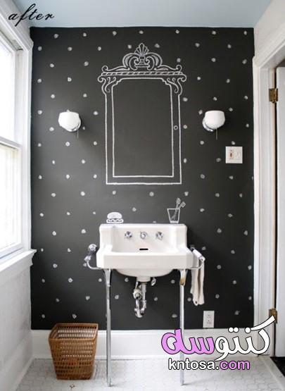 ديكورات حمامات صغيرة 2019,كيف تعدل علي ديكورات حمامات المنزل,ديكور حمامات منازل kntosa.com_25_19_156