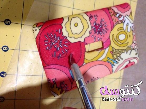 Decoupage هو ورقة لاصقة للكائنات للزينة.كيفية صنع النسيج أو ورقة مغطاة الخفيفة تبديل لوحة. kntosa.com_25_19_157