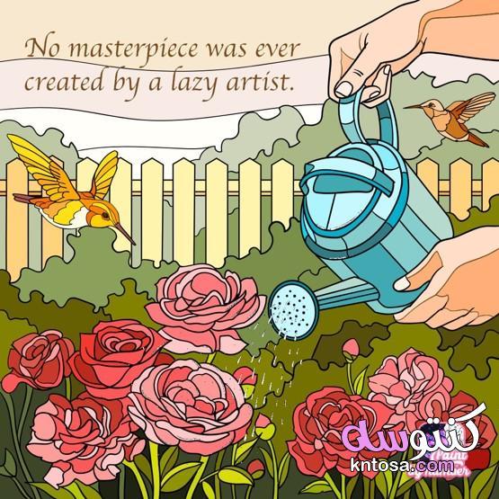 رسومات جميلة يظهر فيها الابداع،رسومات انمي كيوت منتدى كنتوسه kntosa.com_25_21_161