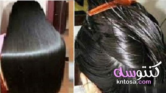 نصف ساعة على الشعر الخشن أو الجاف والنتيجة شعر كالحرير بشكل فوري kntosa.com_25_21_161
