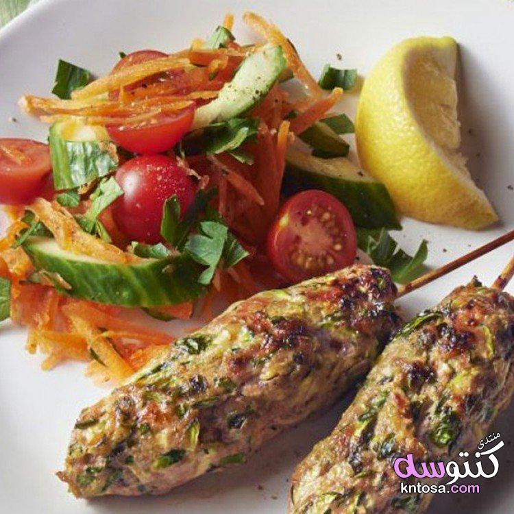 طريقة عمل كفتة مشوية لغداء سريع kntosa.com_26_19_154
