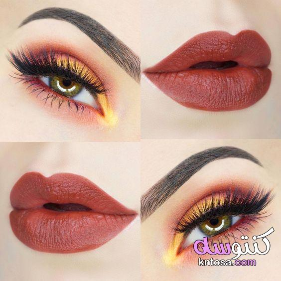 حصريا ميك اب عيون 2020, مكياج عيون سوارية 2020, مكياج عيون عرايس 2020,Beauty Makeup kntosa.com_26_19_156