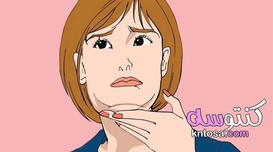 كيفيه تنحيف الوجه ،نصائح مهمة للمساعدة فى تنحيف الوجه. kntosa.com_26_19_156