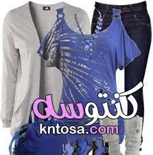 أفكار مختلفة لتنسيق ملابس الخروج.ملابس صيفي موضه 2020,اجمل ملابس صيفيه لعام 2020 kntosa.com_26_20_158