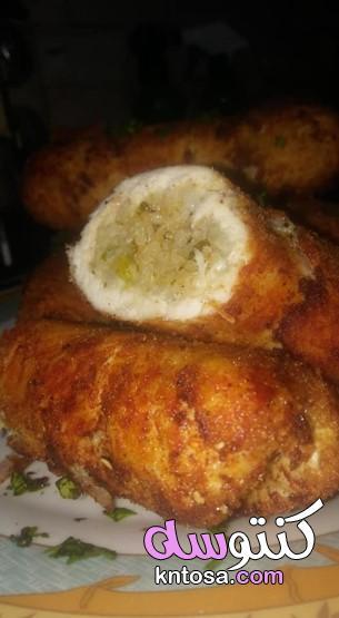 ساندوتش كوردن بلو كوك دور،طريقة عمل الكوردن بلو ،سندويش كوردون دجاج