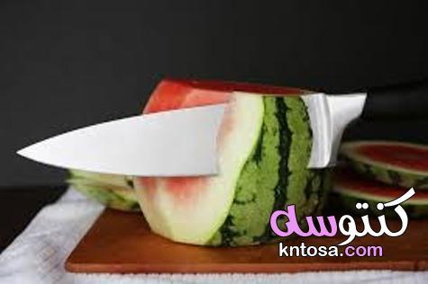 طرق سهلة لتقطيع البطيخ   منتدى كنتوسه kntosa.com_26_21_162