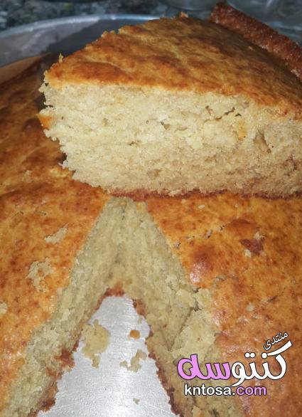 طريقة تحضير حلوى الذ كيكه موز,مكونات كيكة الموز الهشه,اسهل كيكة موز,تحضيرى كيك الموز الرائع kntosa.com_27_18_154
