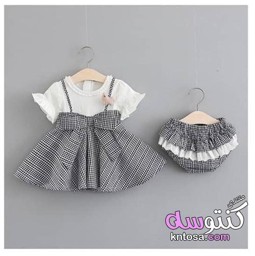 356158c08cf28 اجمل ملابس بيبي بنات،ملابس مواليد للبنات اخر شياكة2019