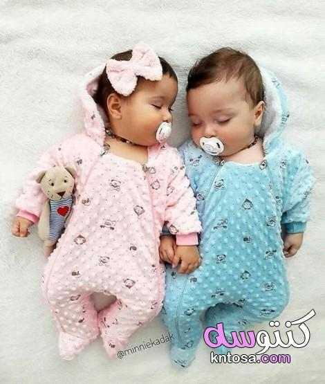 اطفال توائم حلوينصور توائم متشابهيناجمل اطفال العالم بنات