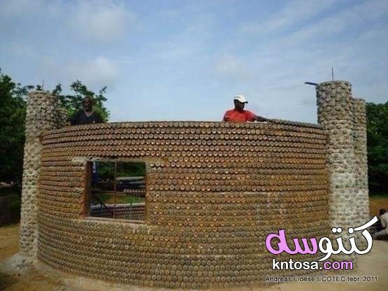 منازل مبنية من العبوات البلاستيكية والطين! kntosa.com_28_20_159
