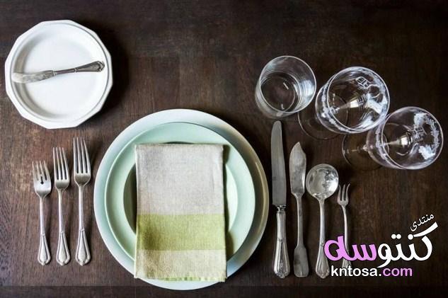 ايتكيت المائدة,أدوات مهمة على مائدتك,اتيكيت استعمال أدوات المائدة kntosa.com_29_19_154