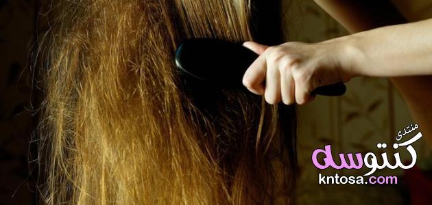 حل تشابك الشعر الشديد,شعري معقد كيف افكه,كيفية تسليك الشعر المعقد جدا,طرق لفك تشابك الشعر kntosa.com_29_19_154