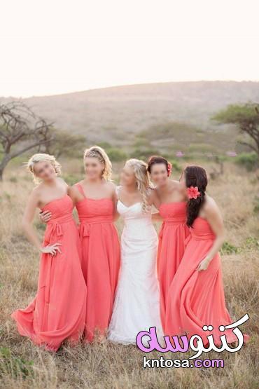 إطلالات ناعمة لأخت العروس,فساتين اخت العروس انستقرام,فساتين اخت العريس 2019 kntosa.com_29_19_156