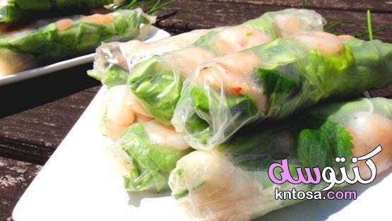وجبة خفيفة مصنوعة من اللحم والروبيان(فيتنام)