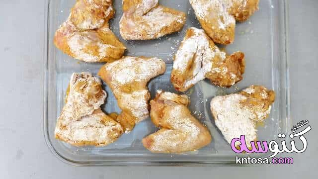 طريقة عمل أجنحة الدجاج المشوية فى البيت,وصفة مصورة أجنحة الدجاج المشوية kntosa.com_30_18_154