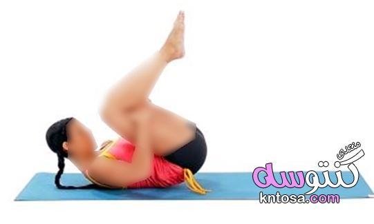 تمرين التدحرج,تمارين عضلات الظهر وعضلات البطن kntosa.com_30_18_154