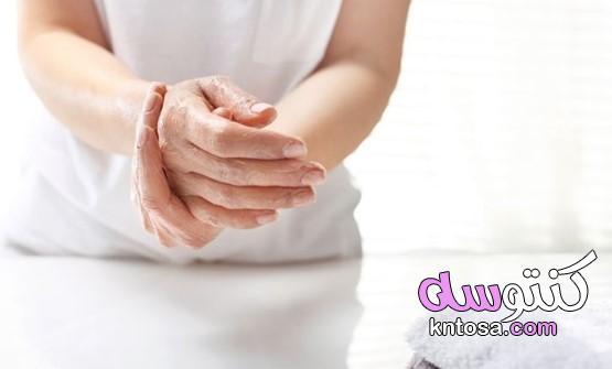 الأيدي الجافة والمتهيجة ... كيف تعتني بها عندما تغسلها كثيرًا؟ kntosa.com_30_21_161