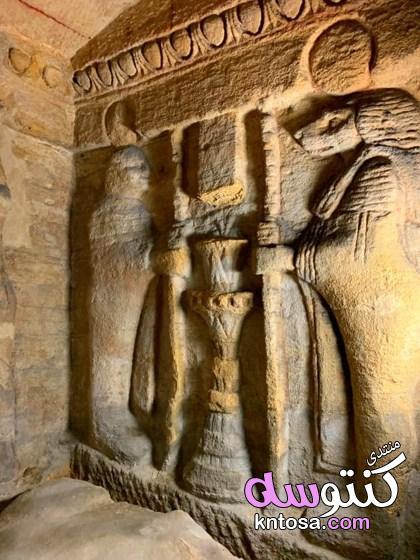 من تصويري مقابر كوم الشقافة الآثرية في الاسكندرية وحصرى 2019 kntosa.com_31_19_155