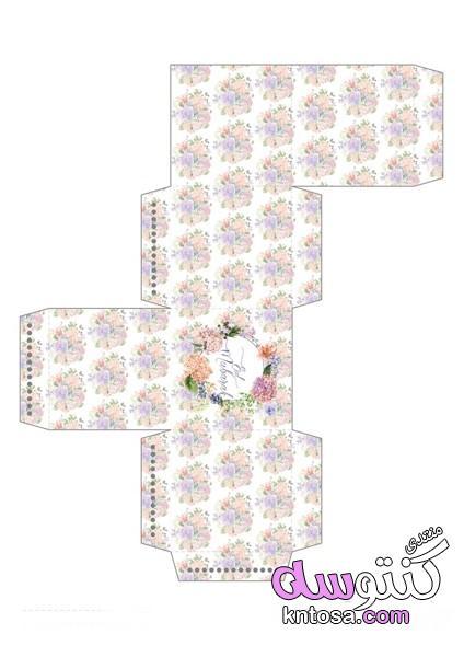 سكرابز عيد سعيد,كروت عيدية جاهزة للطباعة,ملصقات لتزين هدايا عيد الفطر2019,اشكال سكرابز عيديات kntosa.com_31_19_155