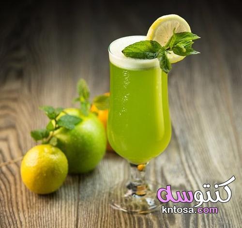5 تكات لعمل «عصير الليمون بنعناع» برغوة زي المحلات kntosa.com_31_21_162